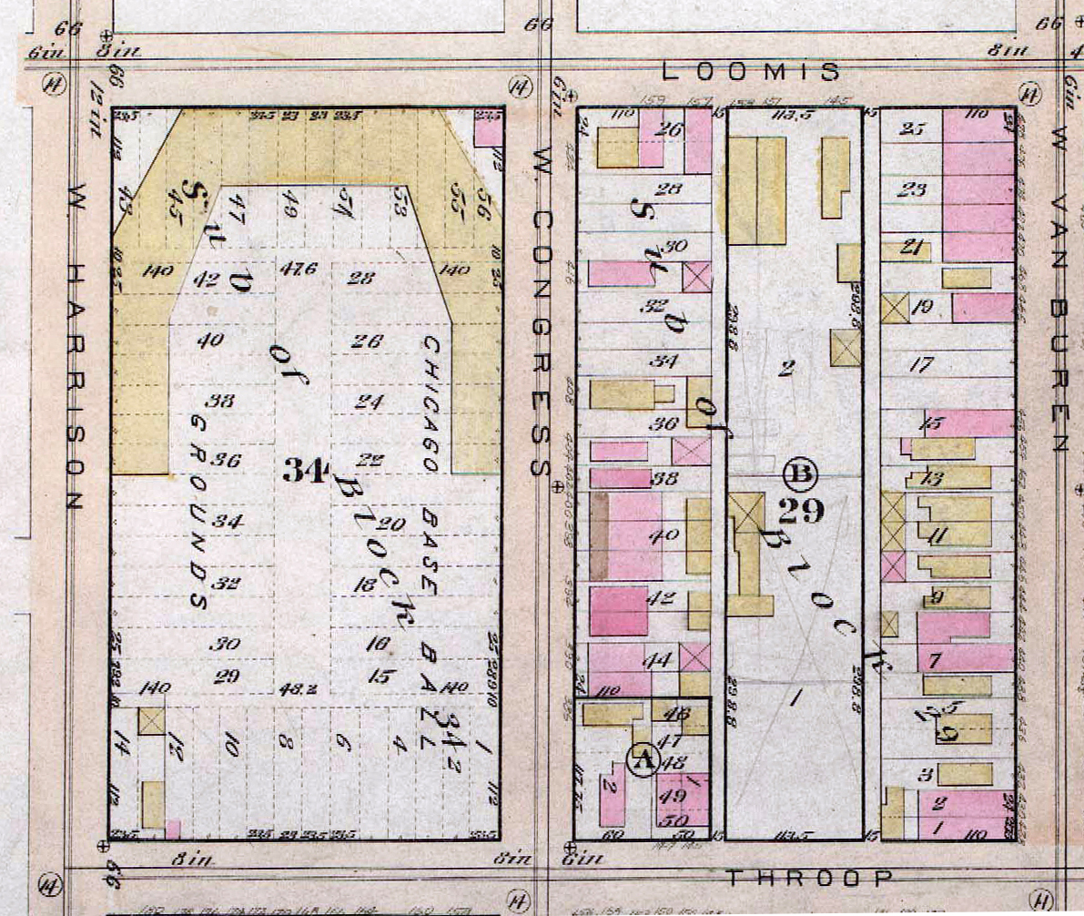 Maps Show How Chicago Was Devastated After The Great Fire Of - Chicago fire map
