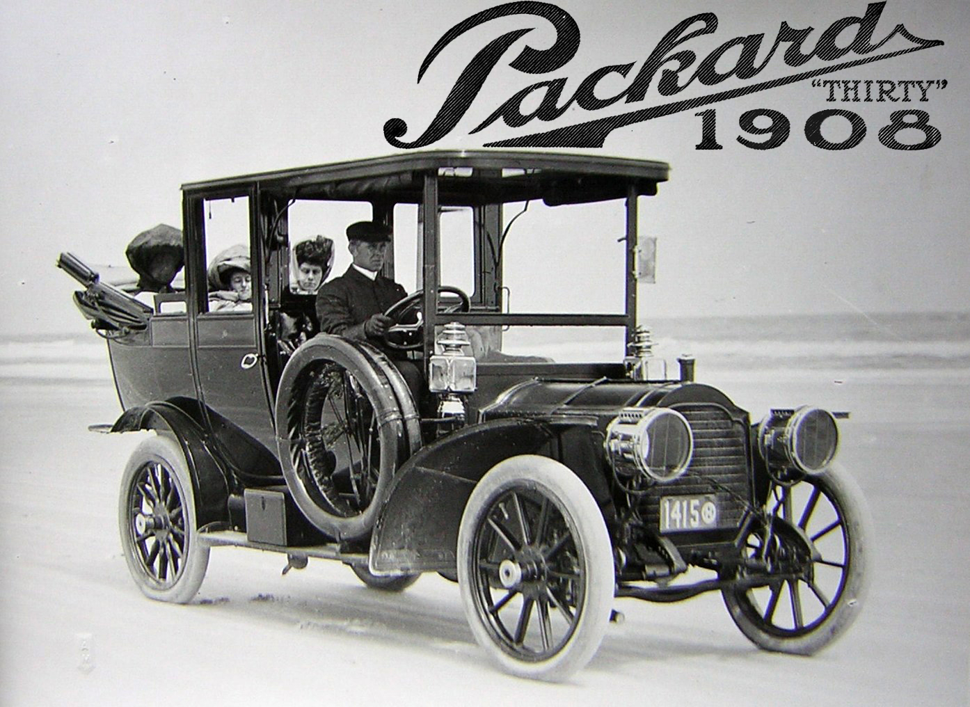 1908 Automobile Show