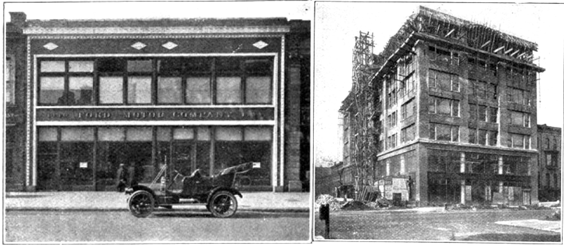 1905 1936 Automobile Row