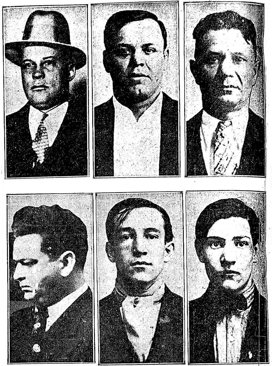 Valentines Day Massacre Original Paper February 16 1929 Gangsters