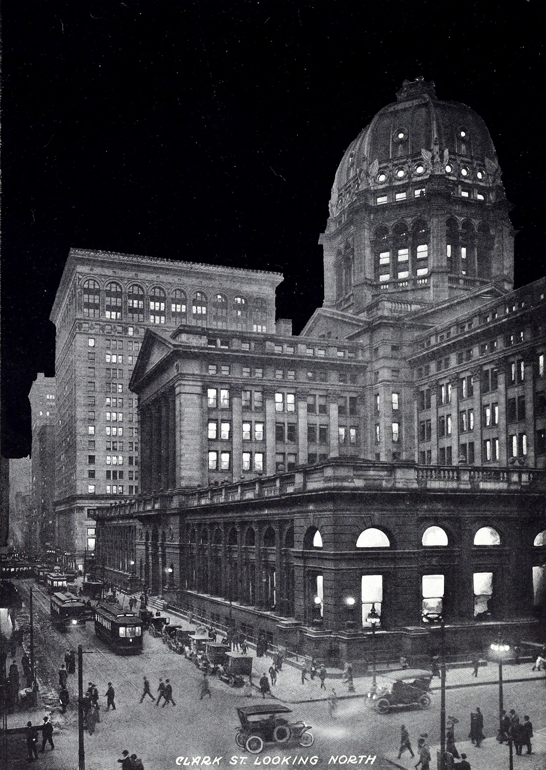 Night In Chicago 1913
