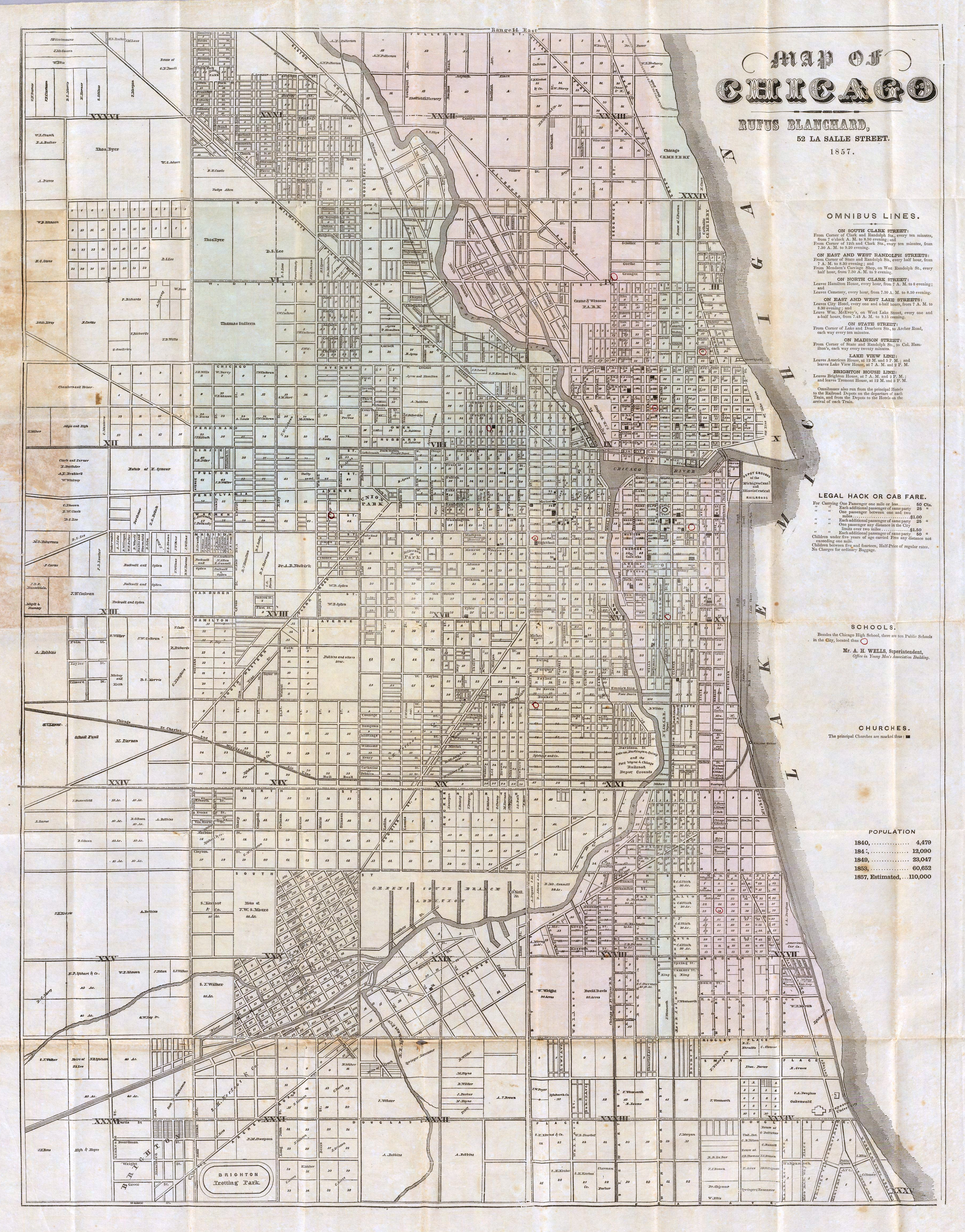 Chicago Map Streets.Chicago Street Names Street Signs
