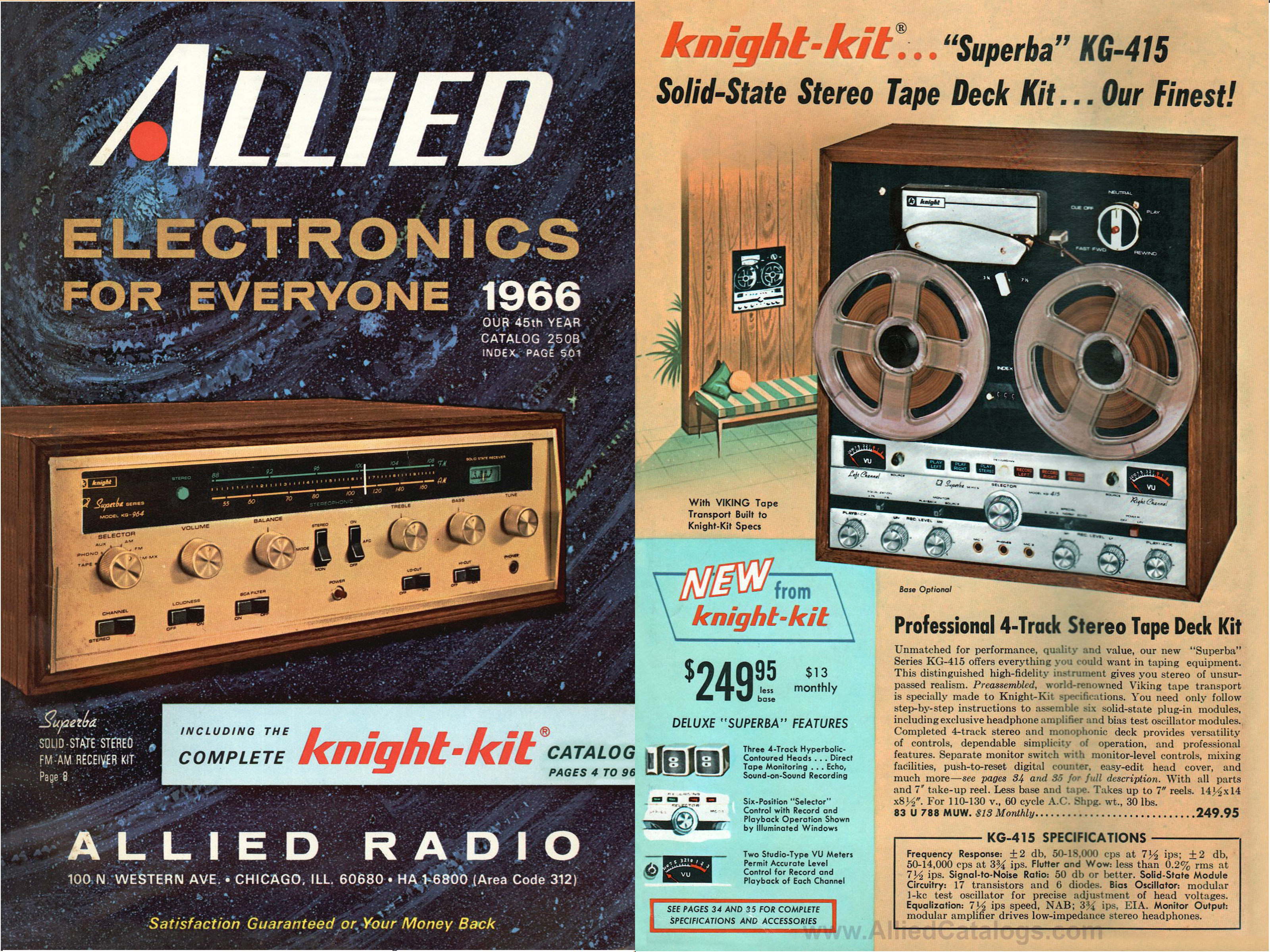 Allied Radio—1928-1970
