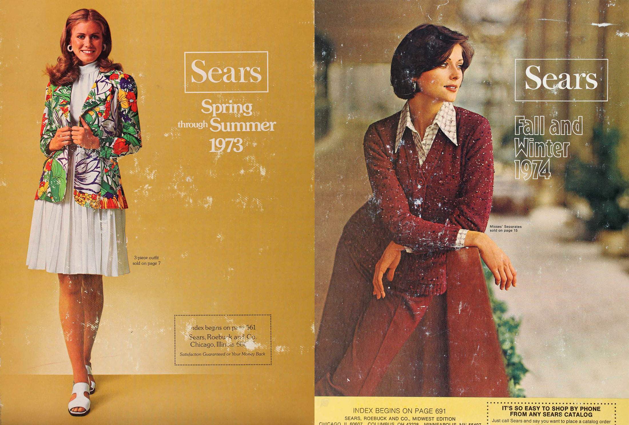 1961-1993 Sears Catalog Covers