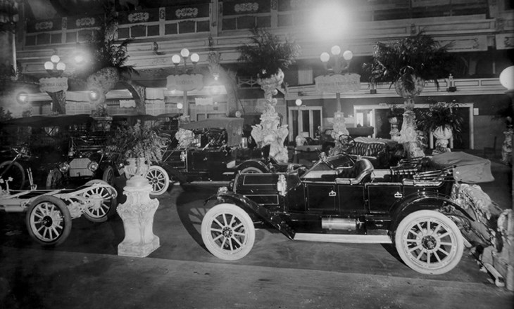 1910 chicago automobile show Motor vehicle chicago
